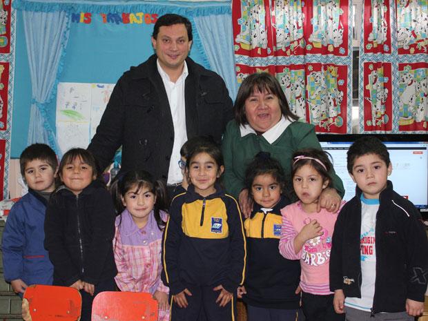 Ayuda a Escuela rural de Chanco