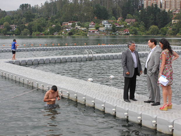Reparación de la Laguna Chica