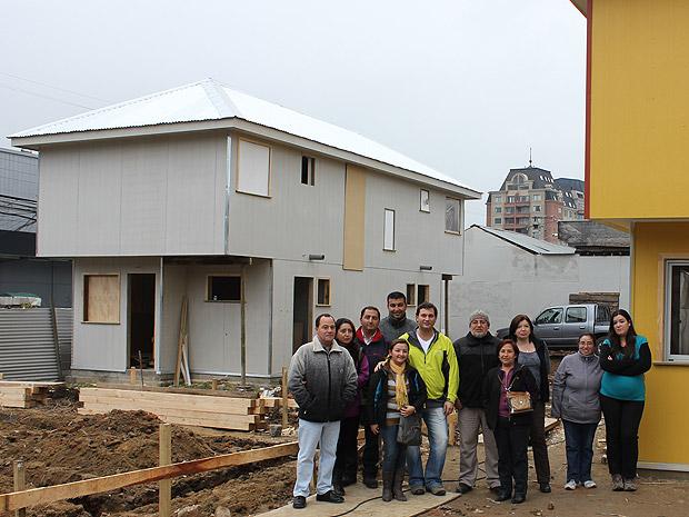 Reconstrucción para familia Rebolledo