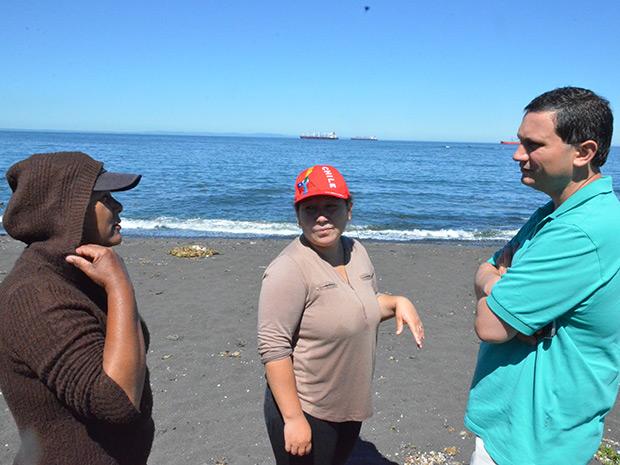 """Ayuda a dirigentes orilleros de Caleta """"El Pueblito"""""""