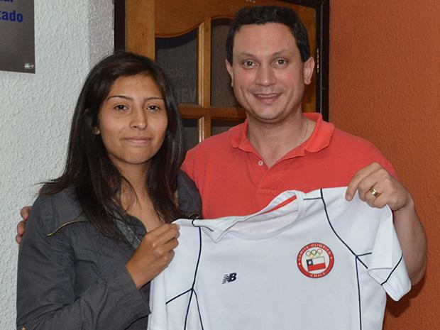 Apoyo a kayakista para participar en Sudamericano