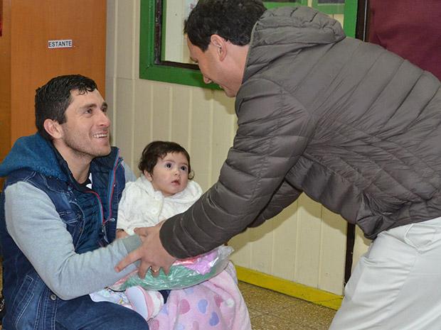 Abrigando a niños de Pedro de Valdivia y Pedro del Río
