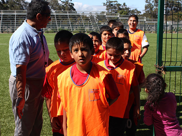 """Un """"Arsenal"""" de niños crece en el deporte"""